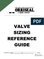 Valve Size Manual