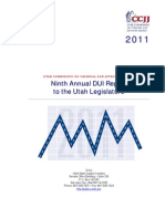 2011 DUI Annual Report to the Utah State Legislature