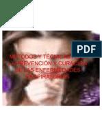 MÉTODOS Y TÉCNICAS PARA LA PREVENCIÓN Y CURACIÓN