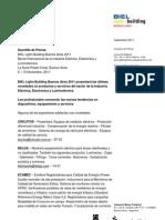 BIEL L+B 2011_Novedades de Los Expositores_Septiembre 2011