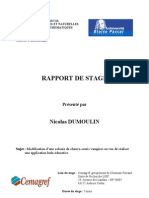 Rapport Stage Maitrise