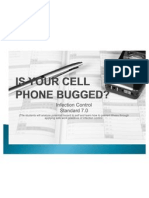 is your cell bugged