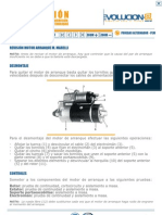 Motor de Arranque - Comprobaciones