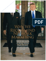 Why Network Marketing by Robert Kiyosaki Donald Trump
