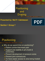 Positioning and Draping