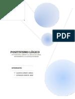 EL POSITIVISMO LOGICO