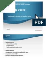 Aula02 - Introdução a Sistemas de Bases de Dados