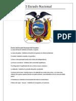 Partes Del Escudo Nacional Del Ecuador