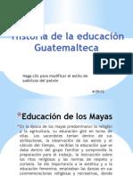 Diapositivas Historia de La Educacion