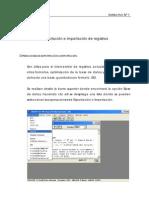Exportación e importación de registros [WinIsis]