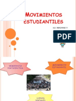 Presentacion de Los Movimientos Estudiantiles
