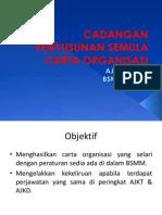 Cadangan Organisasi BSMM cabang UiTM