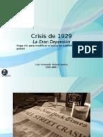 Presentación - Crisis de 1929