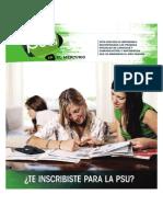 Ensayos PSU Matemáticas y Lenguaje oficiales rendidos el año 2010