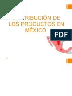 DISTRIBUCIÓN DE LOS PRODUCTOS EN MÉXICO