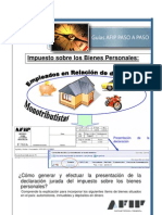 Manual Declaracion Jurada Bienes Person Ales