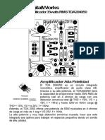Amplificador Con TDA2050 B