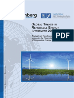 BNEF Global Trends in Renewable Energy Investment 2011 Report