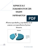 REPORTE evaluacion