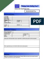 PTE Application Form