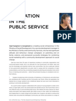 Gael Surgenor – Innovation in the Public Service
