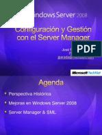 Configuracion y Gestion Con El Server Manager[1]