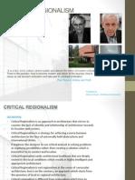 Critical Regionalism