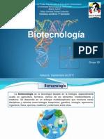 Presentación biotecnologia