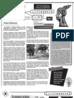 Suplemento Panóptico No. 29 - Libremente