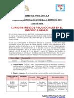 Directiva 058-2011.ILA Curso RPSEL Sa