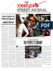 Issue #3'The Occupied Wall Street Journal' to read/download