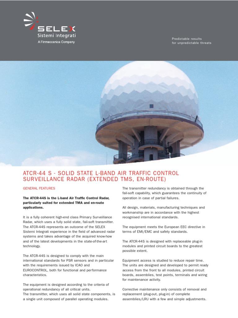 atcr44s | Radar | Wireless