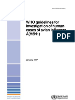WHO Guidelines Investigation AI