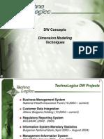 DW Concepts Dimension Modeling Techniques
