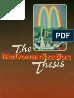 George Ritzer-The McDonaldization