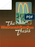 George Ritzer-The McDonaldization
