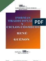Guenon, Rene - Formas Tradicionales y Ciclos cósmicos