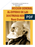 Guenon, Rene - Introducción General Al Estudio de Las Doctrinas Hindúes