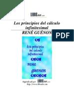 Guenon, Rene - Principios Del cálculo Infinitesimal, Los
