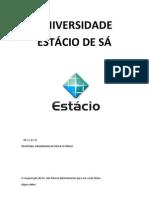 UNIVERSIDADE ESTÁCIO DE SÁ - ENG. RESERVATÓRIO l