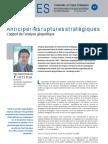 Anticiper les ruptures stratégiques - Note d'analyse Géopolitiques n°40