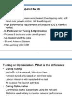 Radio Network Tunning and Optimization for UMTS
