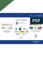Programma Make It in Italy
