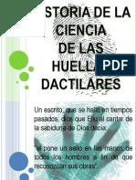 Historia de La Ciencia de Las Huellas Digitales