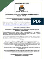 Censo Suas 2011 Cras Question a Rio