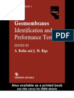 Geomembranes Identification and Performance Testing