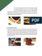 Proses Produksi Sepatu