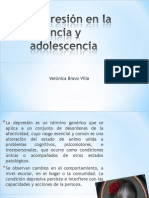 Depresión en la infancia y adolescencia