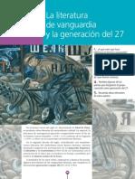 34165026 La Literatura de Vanguardia y La Generacion Del 27