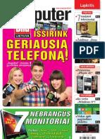 """20/2011 """"Computer Bild Lietuva"""" – Išsirink geriausią telefoną!"""